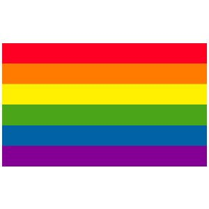 Rainbow Flag - 3' x 5' Polyester.