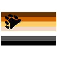 Bear Flag for Bear Pride. 3' x 5' Polyester Bear Flag.