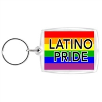 Latino Pride Key Chain.